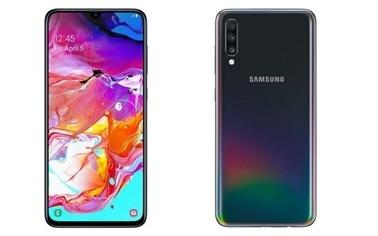 Samsung Samsung Galaxy A70 2019 A705 128Gb Black Renkli